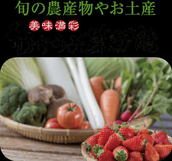 旬の農産物やお土産 なかうみ菜彩館
